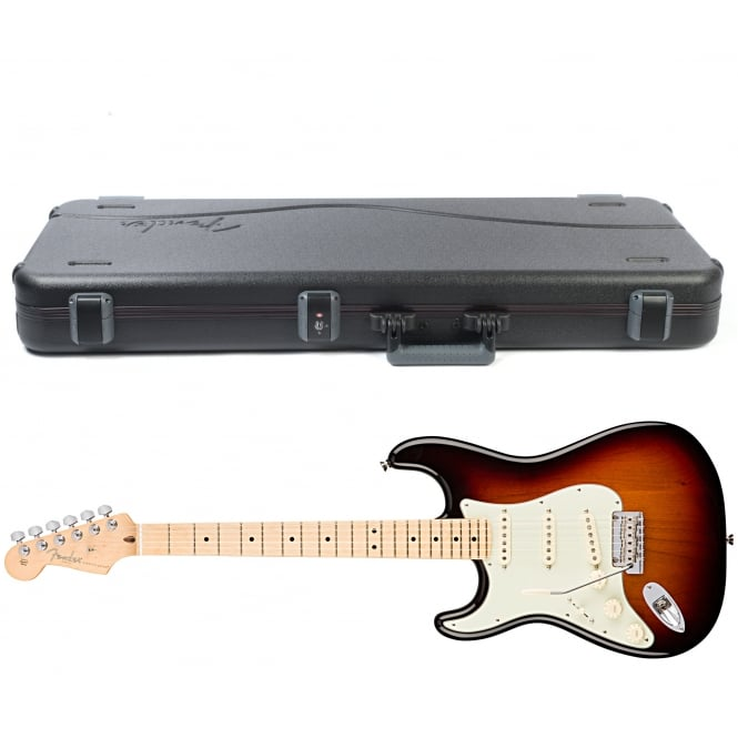 American Pro Stratocaster | Left Handed | Maple Fingerboard | 3-Color Sunburst