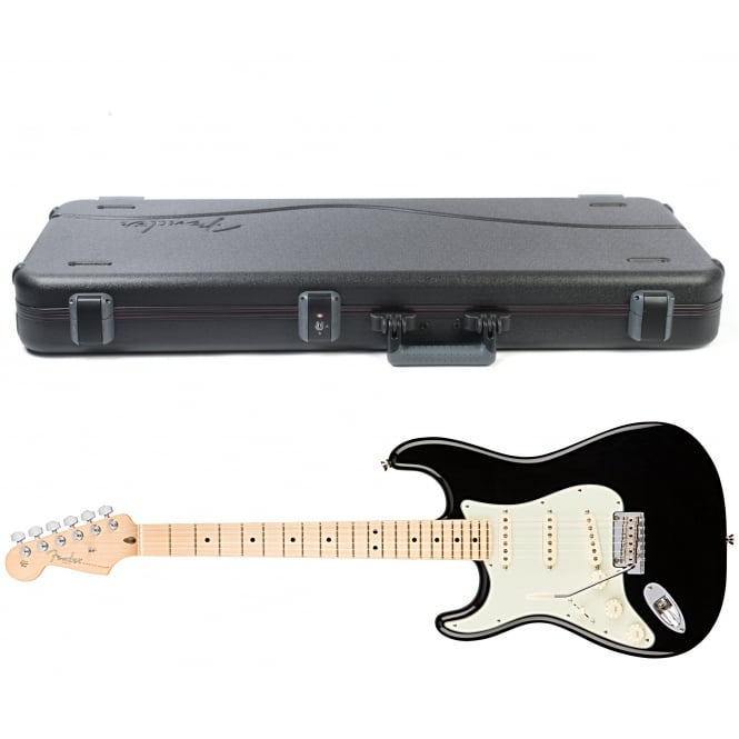 American Pro Stratocaster | Left Handed | Maple Fingerboard | Black