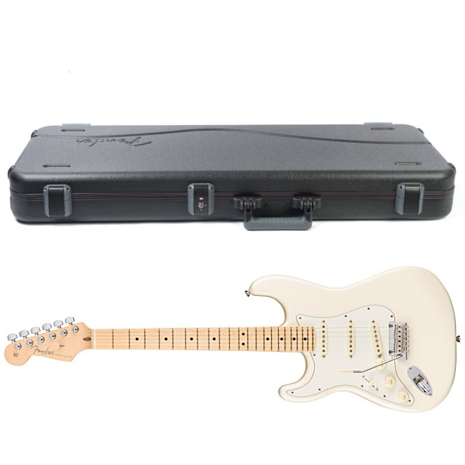 American Pro Stratocaster | Left Handed | Maple Fingerboard | Olympic White