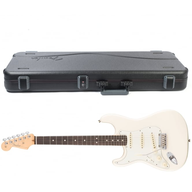 American Pro Stratocaster | Left Handed | Rosewood Fingerboard | Olympic White
