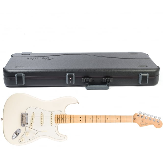 American Pro Stratocaster | Maple Fingerboard | Olympic White