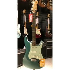Fender American Vintage '59 Stratocaster | Rosewood Fingerboard | Sherwood Green Metallic | Includes Case | Ex Display