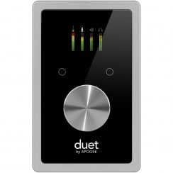 Apogee Duet | 2 IN x 4 OUT USB Audio Interface for iPad, iPhone and Mac