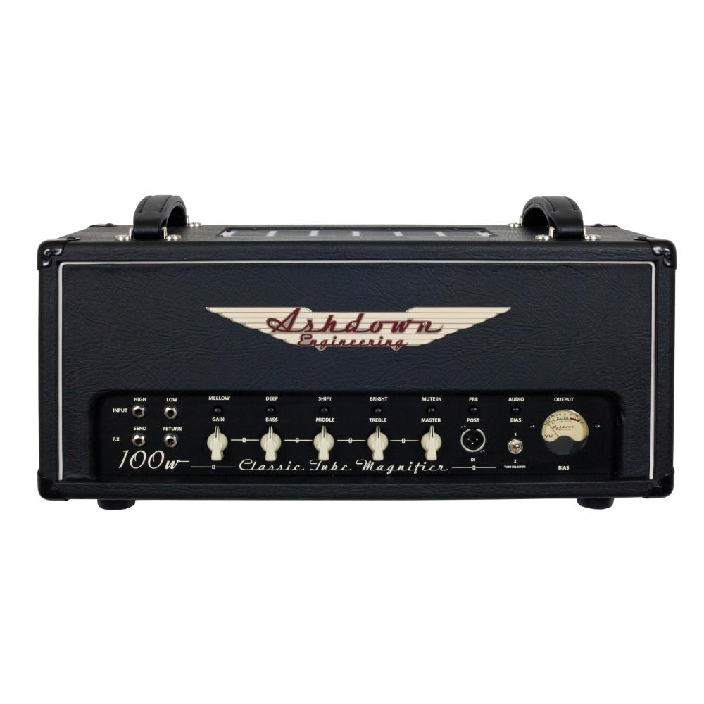 ashdown ctm 100 100 watt all tube bass amp head. Black Bedroom Furniture Sets. Home Design Ideas