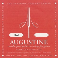 Augustine Red Label E (High) String | 77201