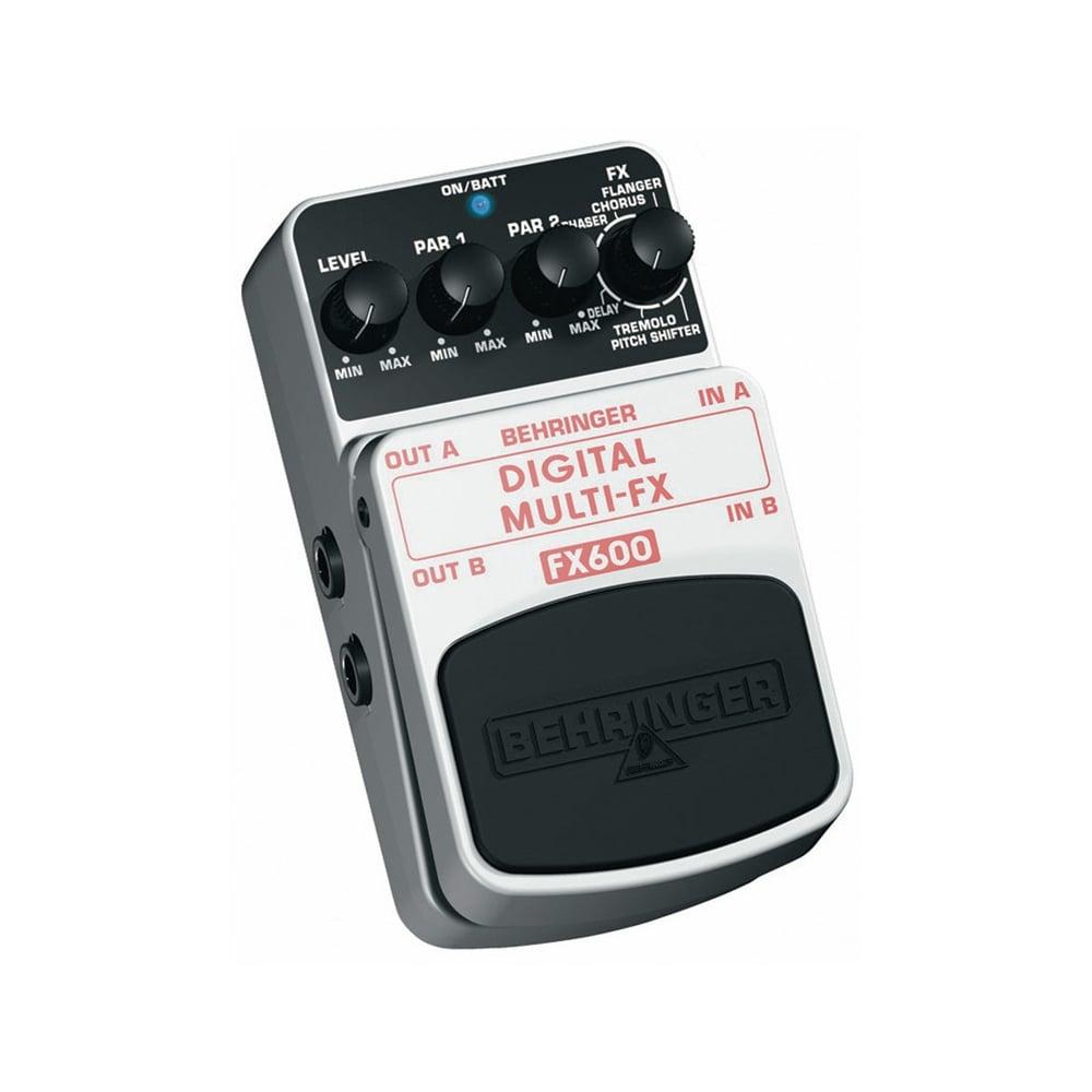 behringer fx600 digital multi fx fx600 guitar effects pedal from rimme. Black Bedroom Furniture Sets. Home Design Ideas