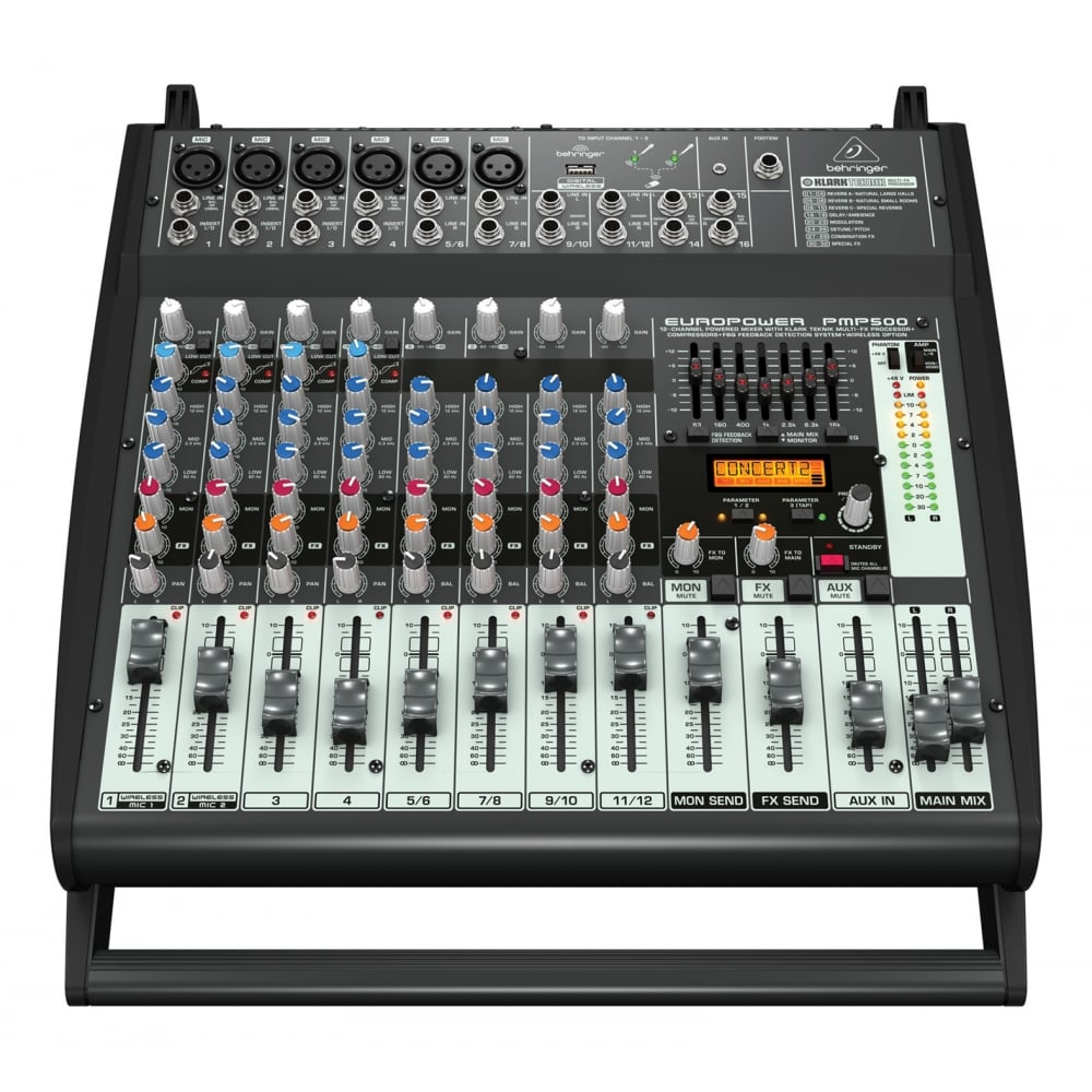 behringer pmp500 europower mixer amplifier from rimmers music. Black Bedroom Furniture Sets. Home Design Ideas