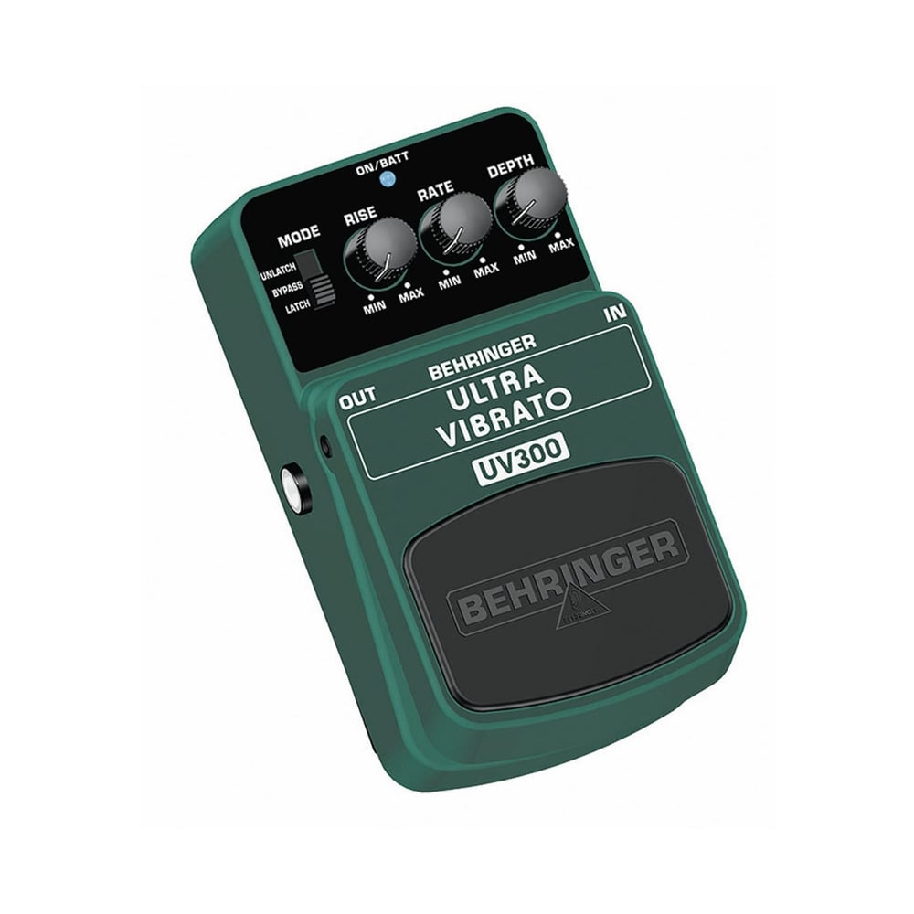 behringer uv300 ultra vibrato guitar effects pedal from rimmers music. Black Bedroom Furniture Sets. Home Design Ideas