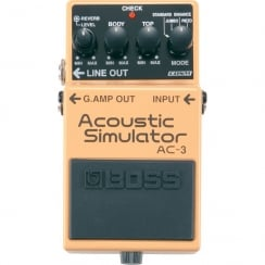 Boss AC3 | Acoustic Simulator | Guitar Effects Pedal