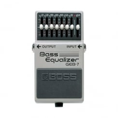 Boss GEB7 | Bass Equalizer Pedal