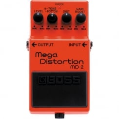 Boss MD2 | Mega Distortion | Guitar Effects Pedal