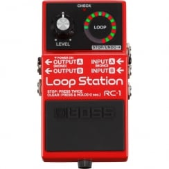 Boss RC1 | Loop Station | Guitar Effects Pedal