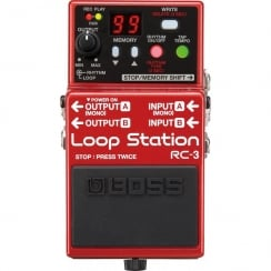Boss RC3 | Loop Station | Guitar Effects Pedal