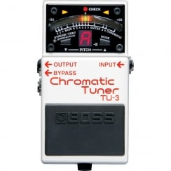 Boss TU3 | Chromatic Tuner | Guitar Effects Pedal