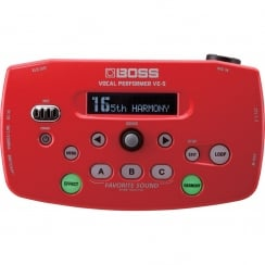 Boss VE-5 Vocal Performer ,Red