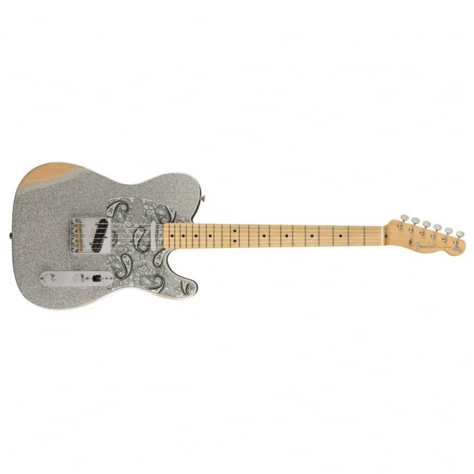 Brad Paisley Road Worn Telecaster Silver Limited Edition
