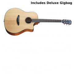Breedlove Solo Dreadnought Acoustic-Electric Guitar | Natural