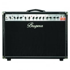 Bugera 6262-212 Ultimate Rock Tone 120-Watt 2-Channel Tube Combo with Reverb and INFINIUM Tube Life Multiplier
