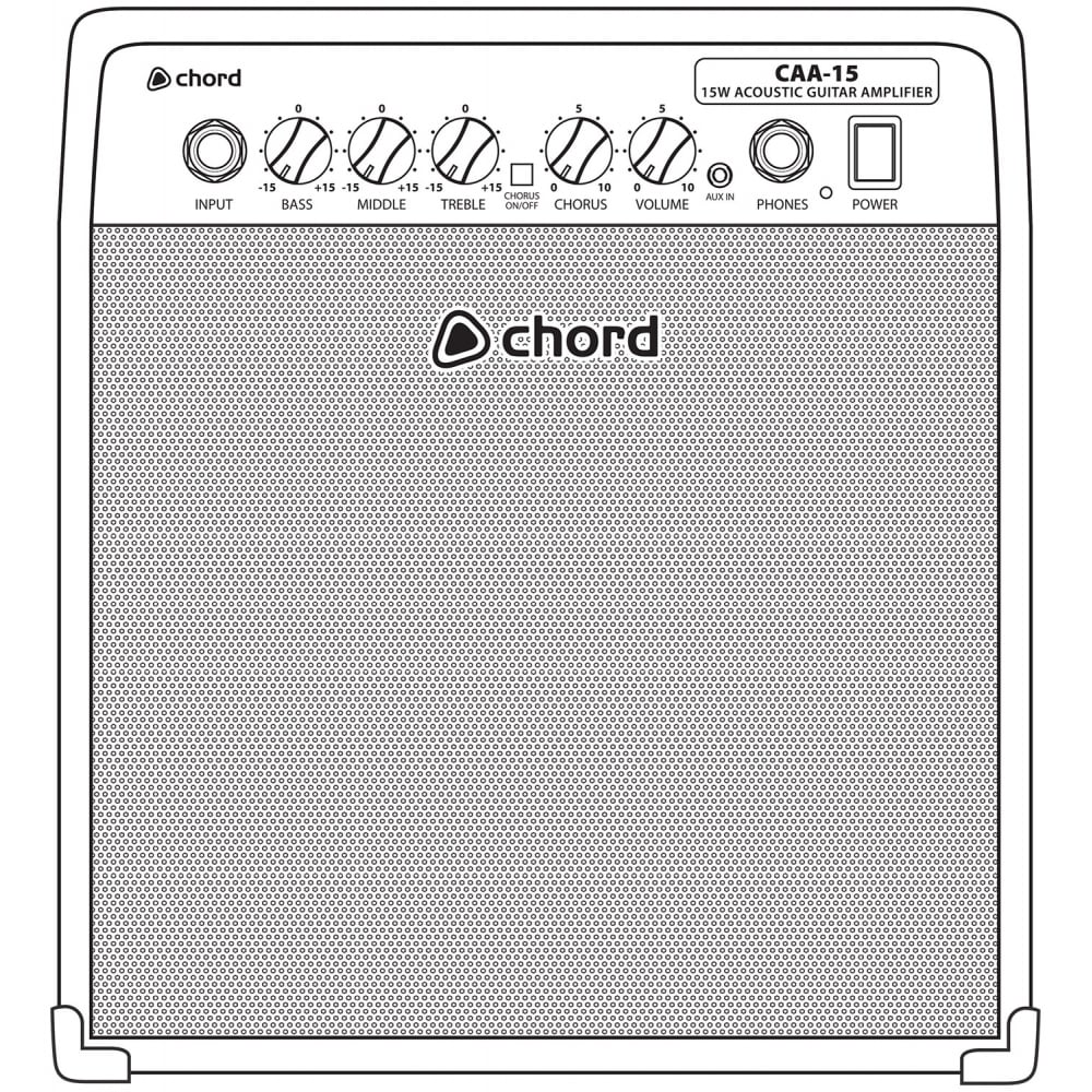 Caa 15 Acoustic Guitar Amplifier From Rimmers Music