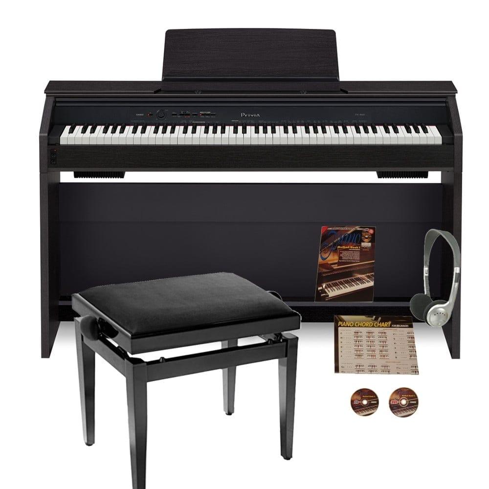 casio privia px860 digital piano bundle. Black Bedroom Furniture Sets. Home Design Ideas