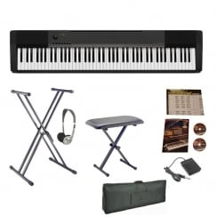 Casio CDP130 Digital Piano | Big Bundle | With Carry Case