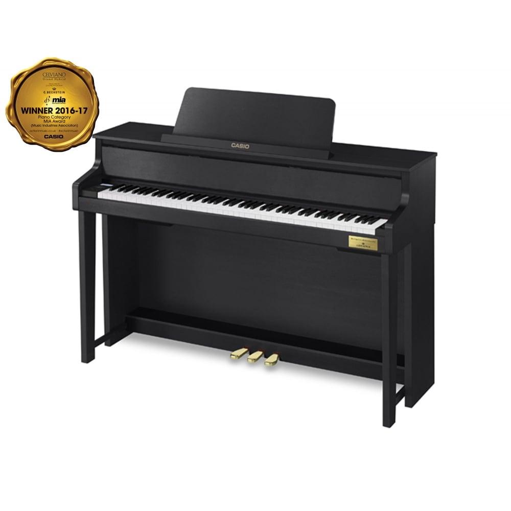 casio celviano gp 300 grand hybrid digital piano black. Black Bedroom Furniture Sets. Home Design Ideas