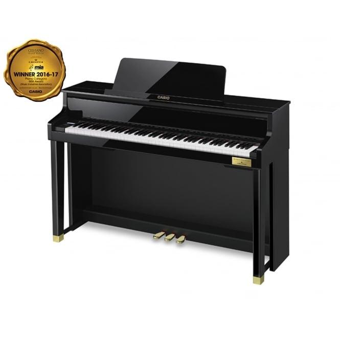 casio celviano gp 500 grand hybrid digital piano black. Black Bedroom Furniture Sets. Home Design Ideas