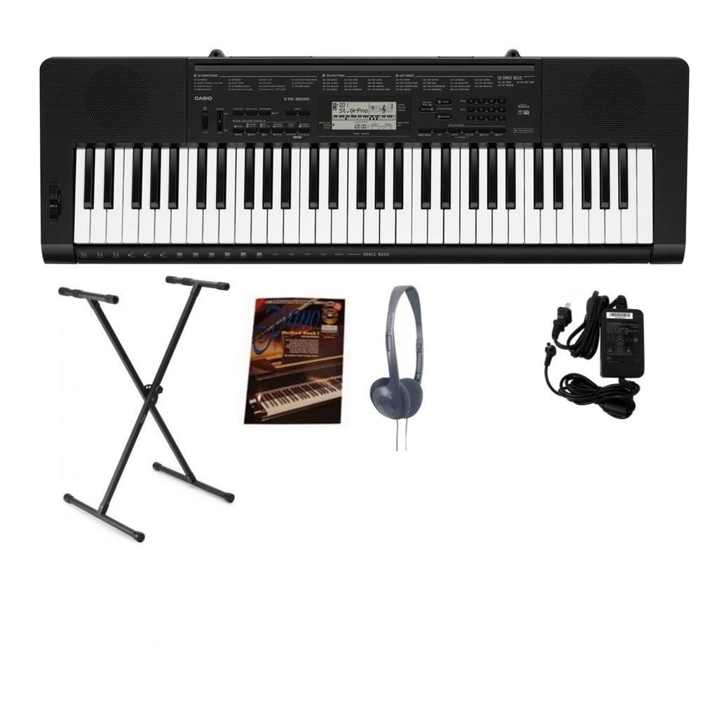 850b5503600 Casio Casio CTK 3500 Portable Keyboard Bundle