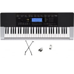 Casio CTK4400 Keyboard | Adaptor, X Frame & Headphones