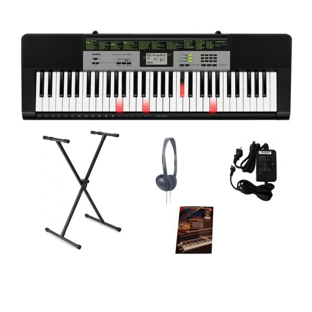 official photos 030da adb06 Casio LK-135 Portable Keylighting Keyboard Package Black