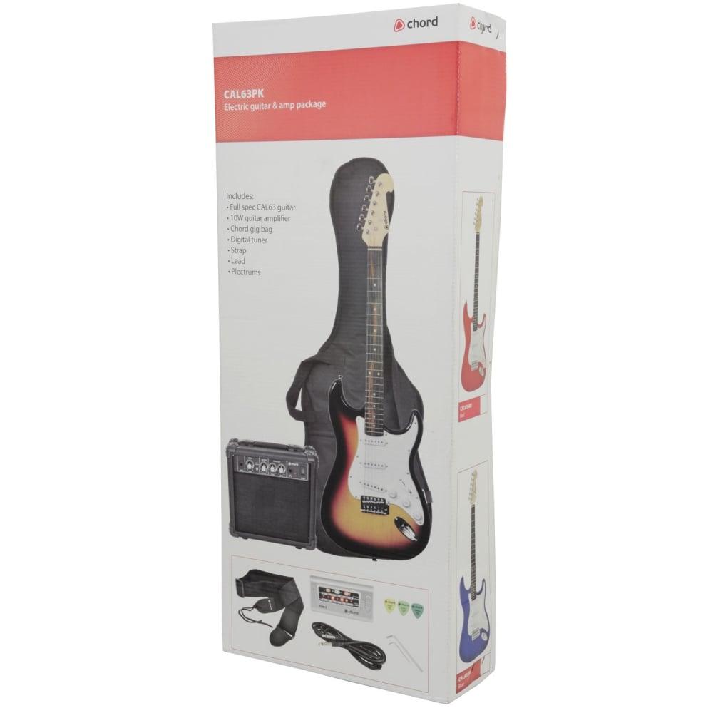 cal63pk electric guitar amp package sunburst from rocking rooster. Black Bedroom Furniture Sets. Home Design Ideas