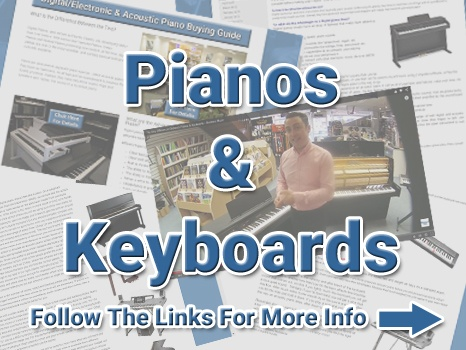 Pianos & Keyboards Buying Guides Image