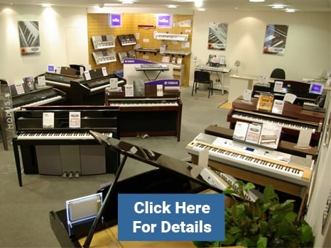 Yamaha Digital Pianos at Rimmers Music
