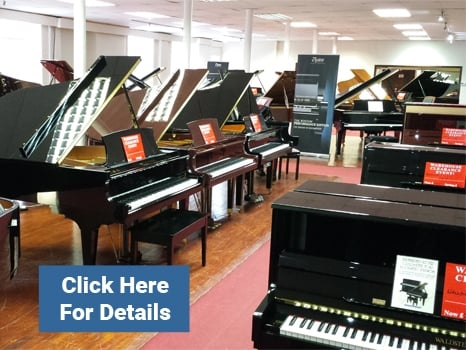 Rimmers Music Bolton Piano Showroom