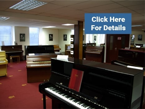 Acoustic Pianos at Rimmers Music Bolton