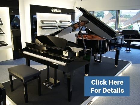 Yamaha Grand Pianos at Rimmers Music