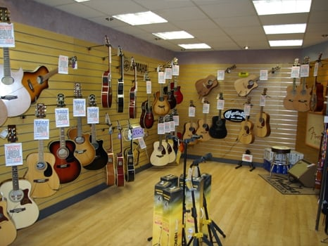 As well as all types of piano, our Bolton store also hosts a selection of quality acoustic guitars.