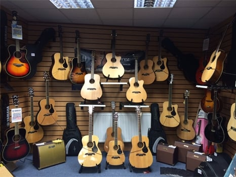 Alvarez Acoustic Guitars at Rimmers Music Wigan