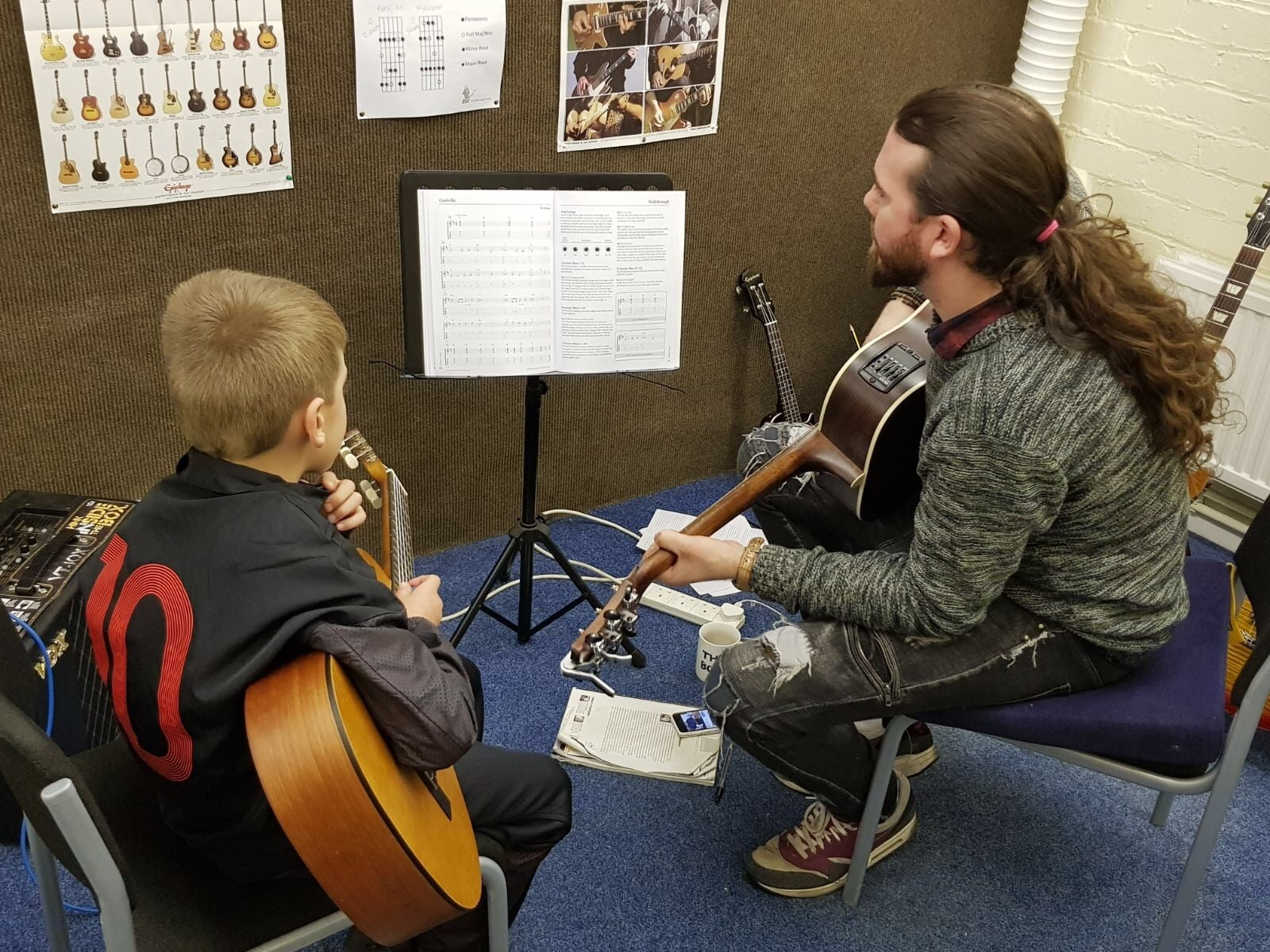 Guitar Lessons at Rimmers Music Wigan Images