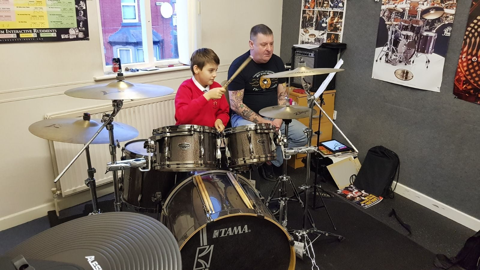 Drum Lessons at Rimmers Music Wigan