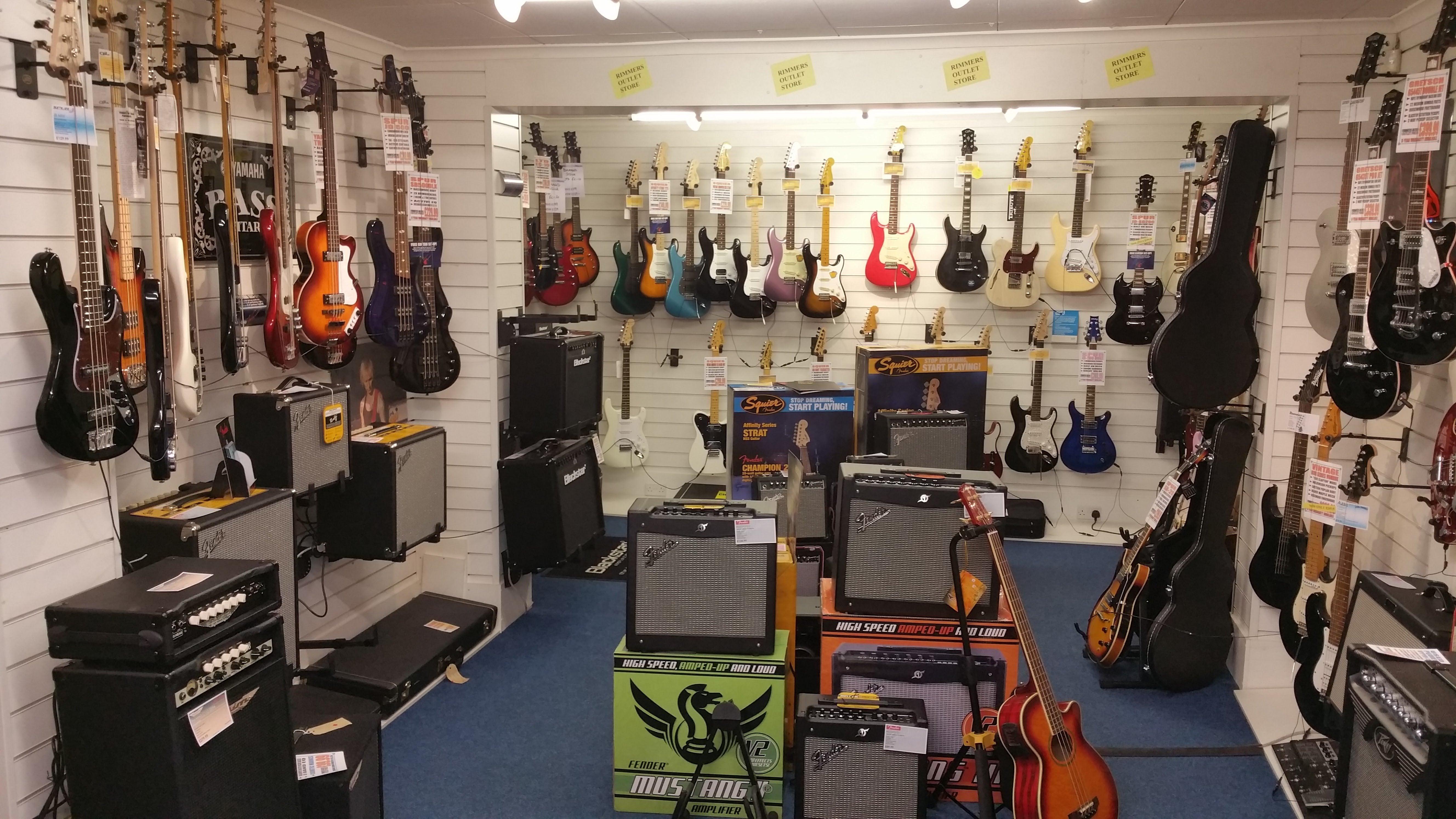 Rimmers Music Blackburn Store