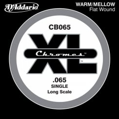 D'Addario D'Addario CB065 Chromes Bass Guitar Single String, Long Scale .065