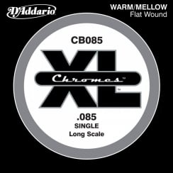 D'Addario D'Addario CB085 Chromes Bass Guitar Single String, Long Scale .085