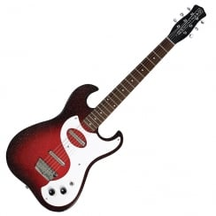 DANELECTRO DG63RB DG63RB 63 GUITAR - RED SPARKLE BURST