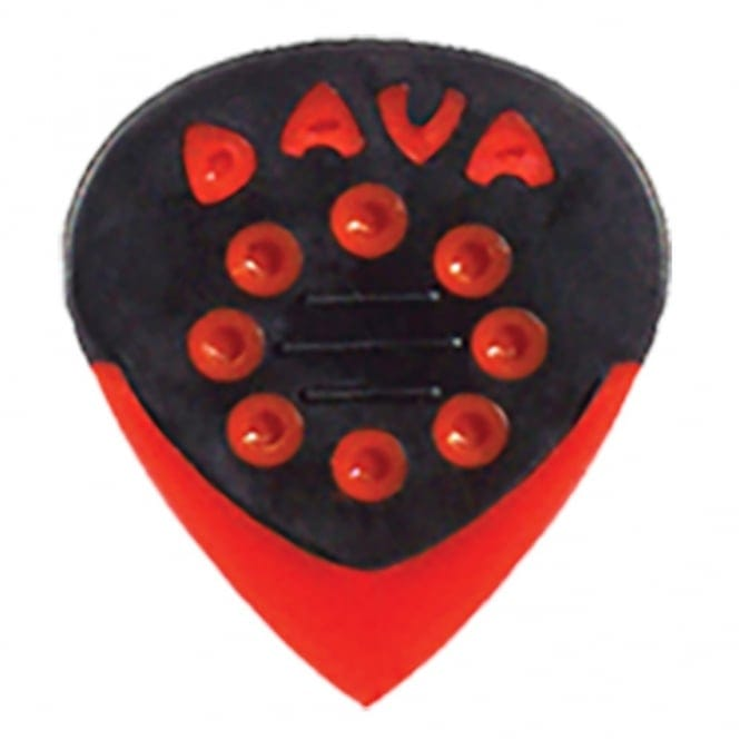 DAVA 9036 JAZZ GRIP PICKS- REFILL BAG 36- RED DELRIN