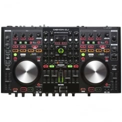 Denon MC6000 MK2 Dual controller and 4 channel mixer with Serato DJ Intro