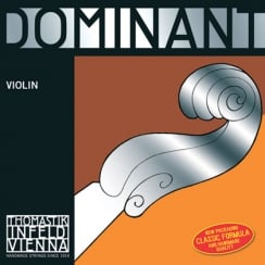 Dominant Violin E. Chrome Steel (loop). 4/4 - Strong*R | 129MSS