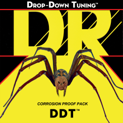 DR Strings DDT: Drop Down Tuning Electric Extra Heavy