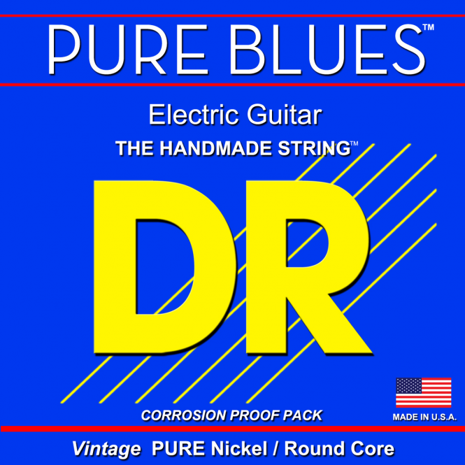 DR Strings Pure Blues Electric Light