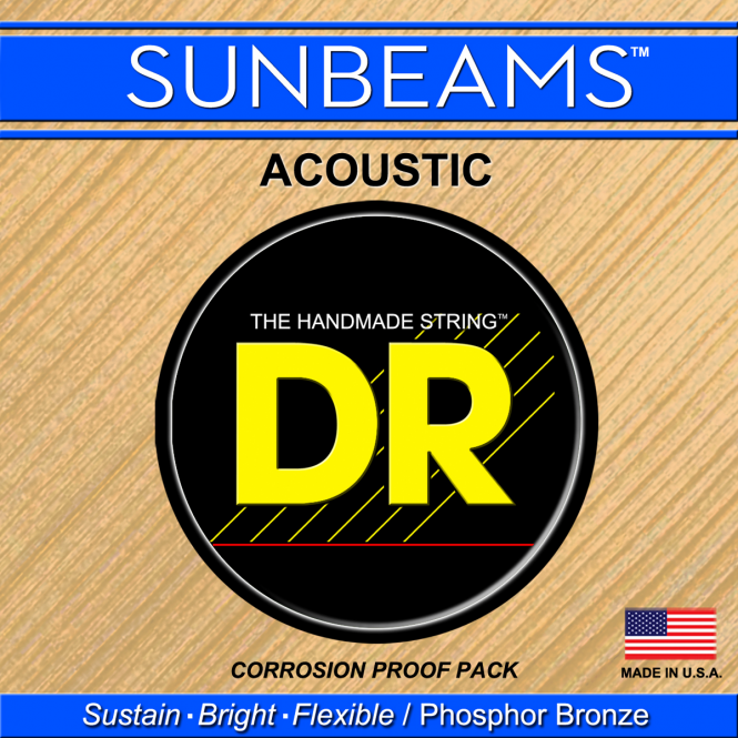 DR Strings Sunbeam Acoustic String A 0.042